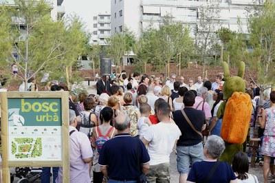 El primer bosc urbà de Lleida ja és una realitat