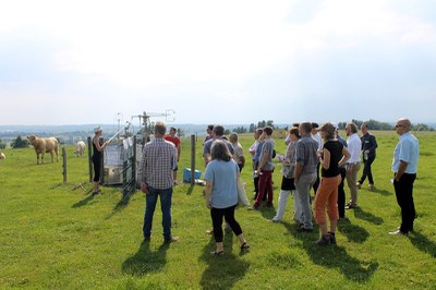 La UdL en un grup d'experts europeus sobre canvi climàtic i pastures