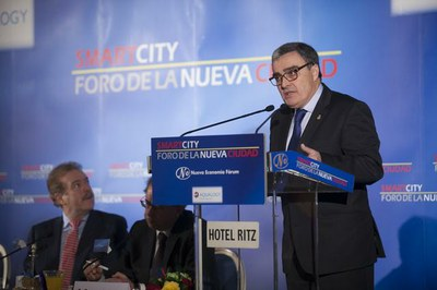"""Àngel Ros: """"les ciutats intel·ligents han d'apostar per la innovació social i pels seus actius humans i immaterials"""""""