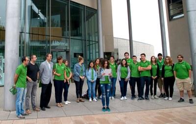 Arriba a Lleida la Caravana universitària pel clima