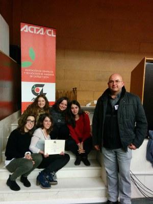 Cinc estudiantes de l'ETSEA guanyen un concurs estatal d'innovació alimentària