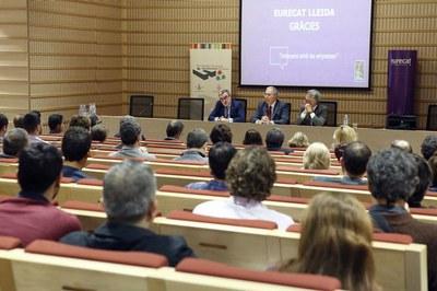 La UdL i Eurecat junts per fer de Lleida un pol d'innovació en agricultura 4.0