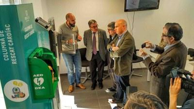 Neosalus presenta Cardionlive, el primer software professional d'Europa que gestiona els desfibril·ladors en temps real