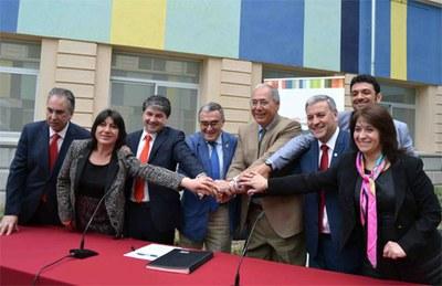 Valdivia i Lleida col·laboraran en projectes de recerca i innovació