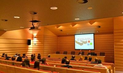 Vint empreses importants de Lleida assisteixen a la presentació d'Eurecat al Parc Científic